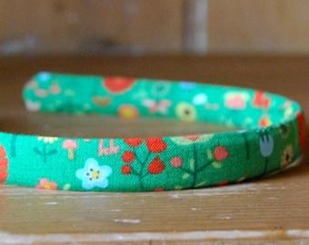 evie lala averill headband in green