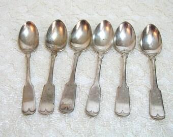 Benedict Mfg Co Silverplate Teaspoons