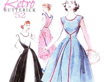 Wrap Walk Away Dress Retro A Line 1952 Style Butterick 4790 Sewing Pattern Plus Size 16, 18, 20 22 Bust 38 40 42 44 Misses Womans Walkaway