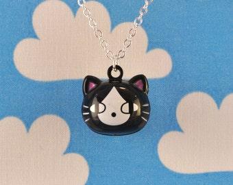 Kawaii Cat Necklace Jingle Bell