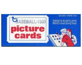1991 Unsearched TOPPS Baseball Vendor Box of 500 cards