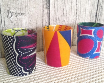 Wedding décor, Votive candle, Party, African party x 9