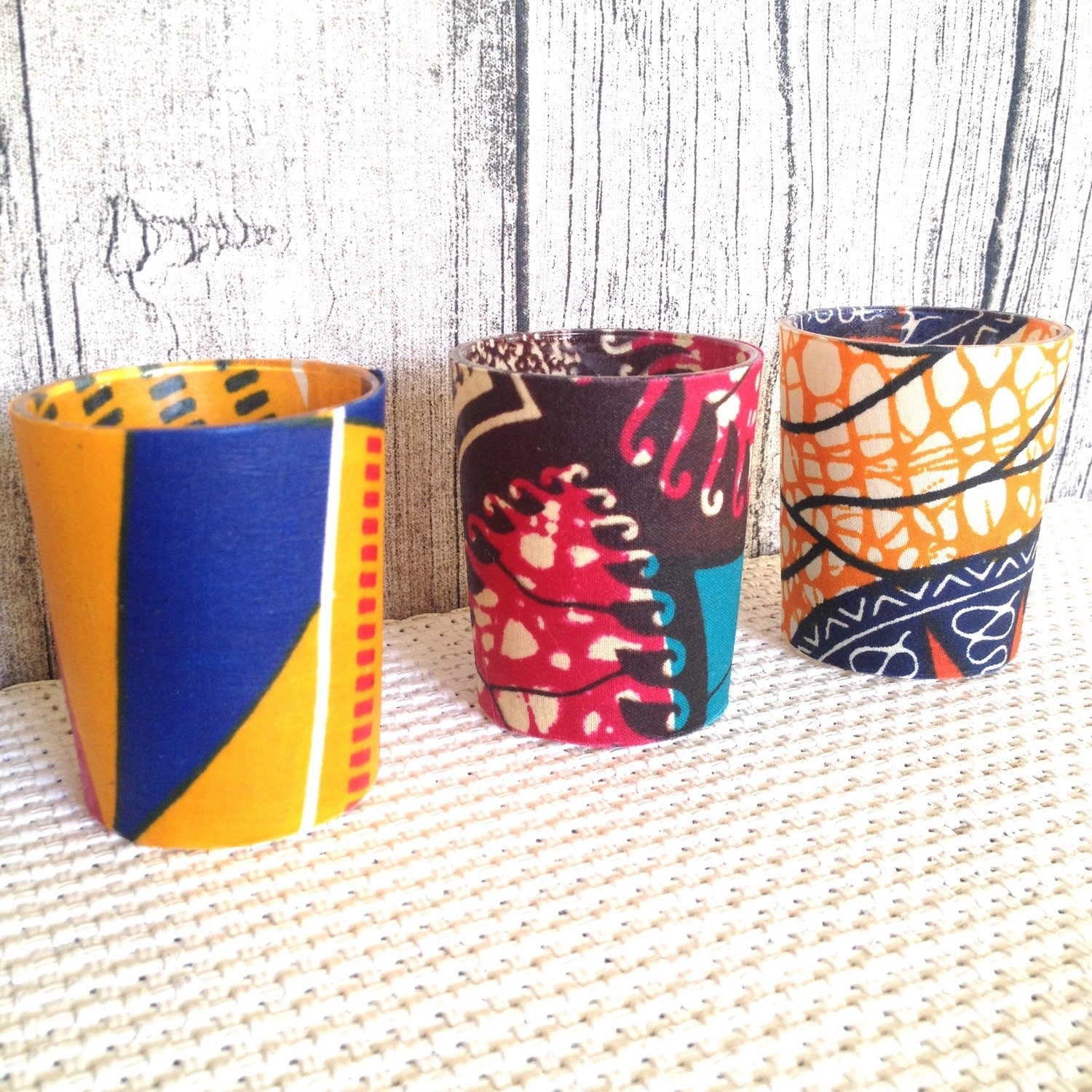 Wedding d cor african wedding votive candle party by for African party decoration