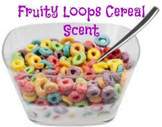 FRUITY LOOPS CEREAL Scented Soy Wax Melts Breakfast Cereal