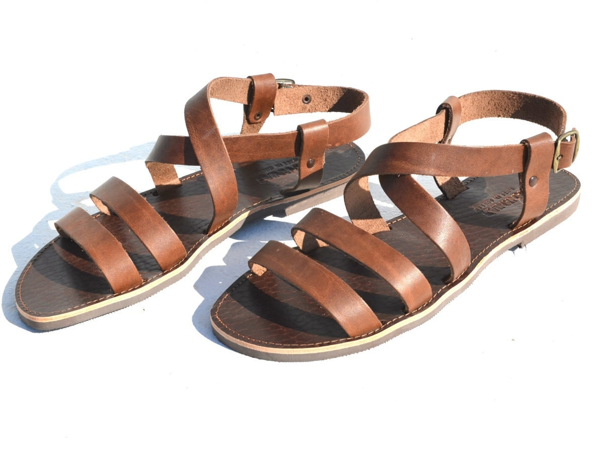 Greek handmade Roman leather sandals for men NEW STYLE