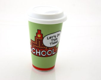 Teacher gift - graduation gift - gift for graduate - school travel mug - can be personalized  - gifts under 15