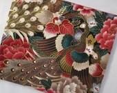SALE - Peacock iPad Case/ Zipper Pouch/ Clutch Bag