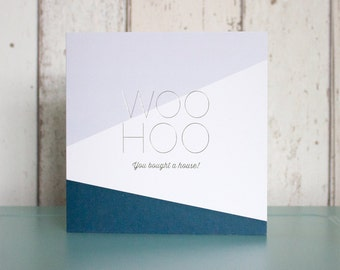 Woo Hoo New House Card