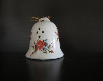 Vintage Scent Holder Bell -  Potpourri holder - Fragrance Holder - Drawer Freshener - Hanging Bell Pomander