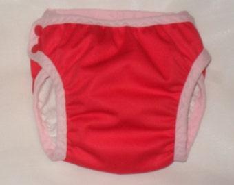 Red Pocket training pants
