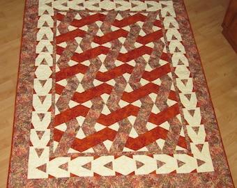 Basket Weave Lap Quilt