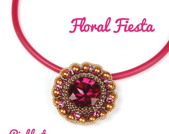 Floral Fiesta Pendant PDF Pattern