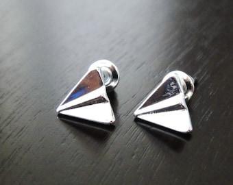 Airplane Plane Mini Earring Studs