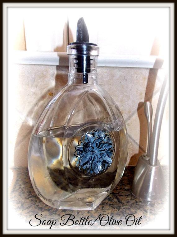 Items Similar To Soap Bottle Olive Oil Kitchen Bath