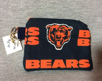 Chicago Bears change purse