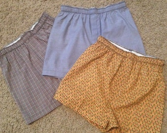 Custom Boys Boxers Size 9/10 (3 pack) - Ready to Ship