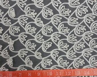 Vintage Venice Venise Bridal Fabric Lace 1 Yard