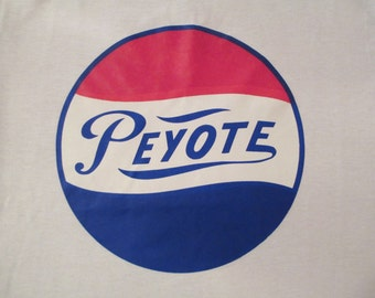 Vintage Peyote Transfer Iron On Deadstock