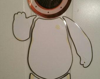Big Hero 6 BayMax Robot Body Part Stateroom Door Magnets for Disney Cruise