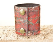 Rainwheel Leather Cuff Jewelry - Women's Handmade Wristbands