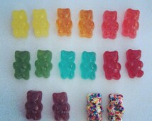 Gummy Bear Earrings (Surgical Steel Posts) - Available in 8 colors!