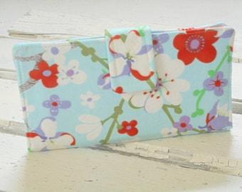 Handmade Wallet, Womens Clutch Wallet, Womens Bifold Wallet