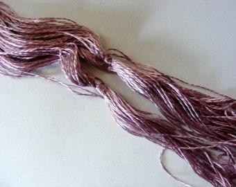 Antique 1900's Silk Embroidery Floss Heminway's Pilgrim Silk TYRIAN DYE Wisteria