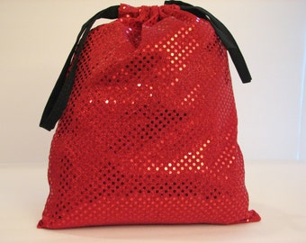 Shoe Bag, Dance Shoe Bag, Women's, Red