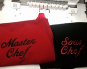 FOR SPENCER: Chef Apron Set