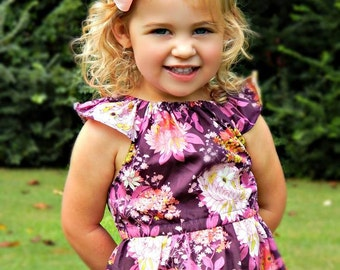 On SALE! Purple Meadows, nelle dress, size 12mos.-8 girls
