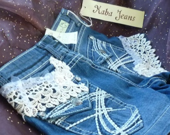 Denim Shorts, Altered Denim, Blue Jean Shorts