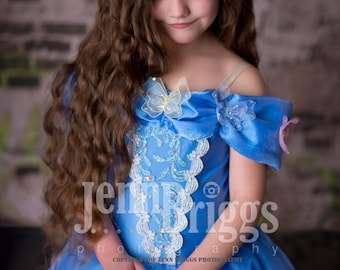 New Cinderella Inspired dress  custom ballgown 4t Halloween costume