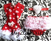 4 piece set HEADBAND Bloomer NECKLACE and Leg warmers-Chiffon Ruffle Bum Baby Bloomer Legwarmers Diaper Cover  Set- ready to ship