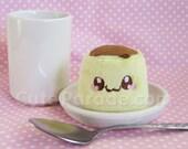 Itty Bitty Flan Pudding Plush Kawaii Plushie