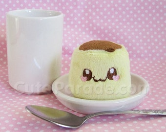 Itty Bitty Flan Pudding Plush Kawaii Plushie