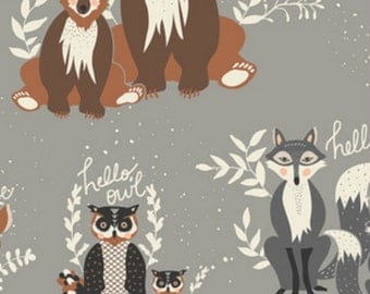 Art Gallery - Hello Bear Collection by Bonnie Christine - Oh Hello in Fog