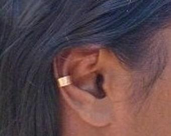 Boho Copper Ear Cuff Afrocentric Jewelry Unisex