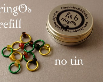 ringOs REFILL - Sunflower - Snag-Free Ring Stitch Markers for Knitting