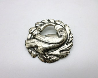 Vintage Sterling Silver Coro Bird Pin