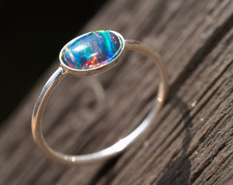 black lab opal ring