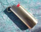 Handmade Mini Bic Lighter Cover (solid bottom)
