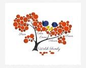FAMILY TREE print, wall art wall decor, room decor, art poster, Anniversary, Special Day Family Tree, Birthday