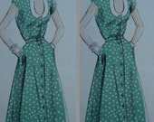 SWING dress vintage 50s style custom made all size