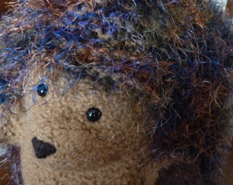 "Toy Felted Plush Hedgehog ""Otto Everheart"""