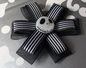 Jack Skellington Petal Bow