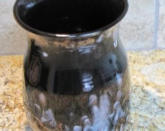 Ceramic Utensil Holder, Spoon Holder, Vase