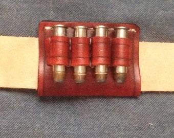 Custom Made to Order Bullet carrier belt slide