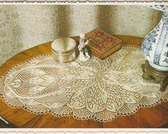 Doily knitting pattern