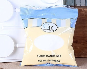 Hard Candy Mix, Hard Candy Lollipop Mix, Seaglass Hard Candy Mix (12 oz)