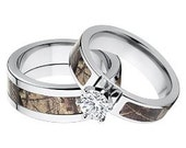 RESERVED LISTING for: tcabrera2 Matching RealTree AP Camouflage Wedding Ring Set